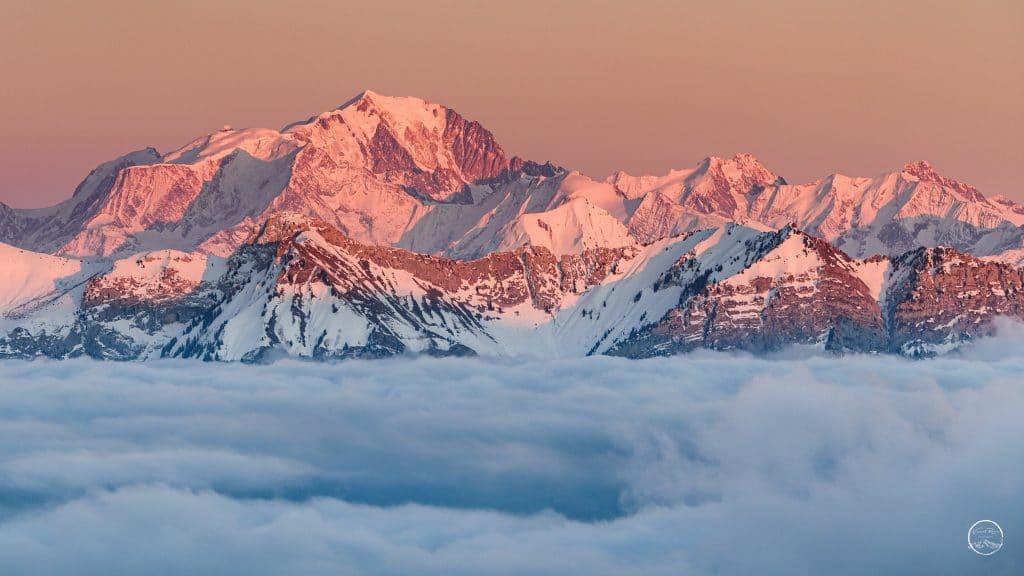 le Mont Blanc - Annecy