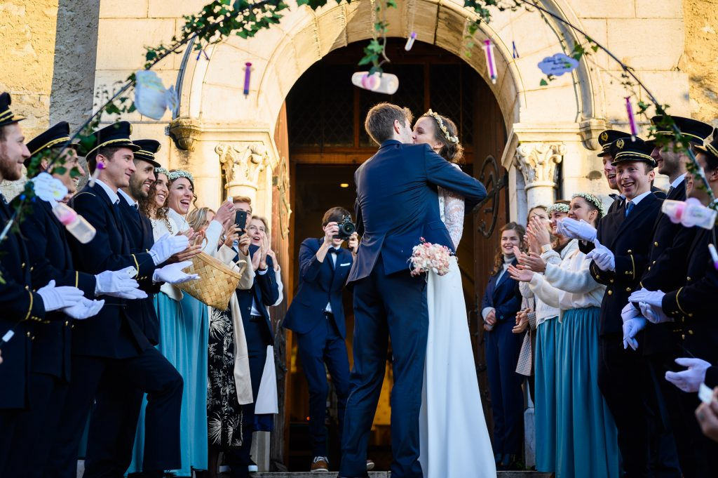 Mariage - sortie d'Eglise