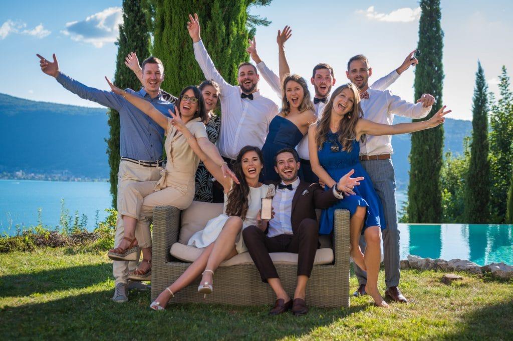 mariage - Photo de groupe