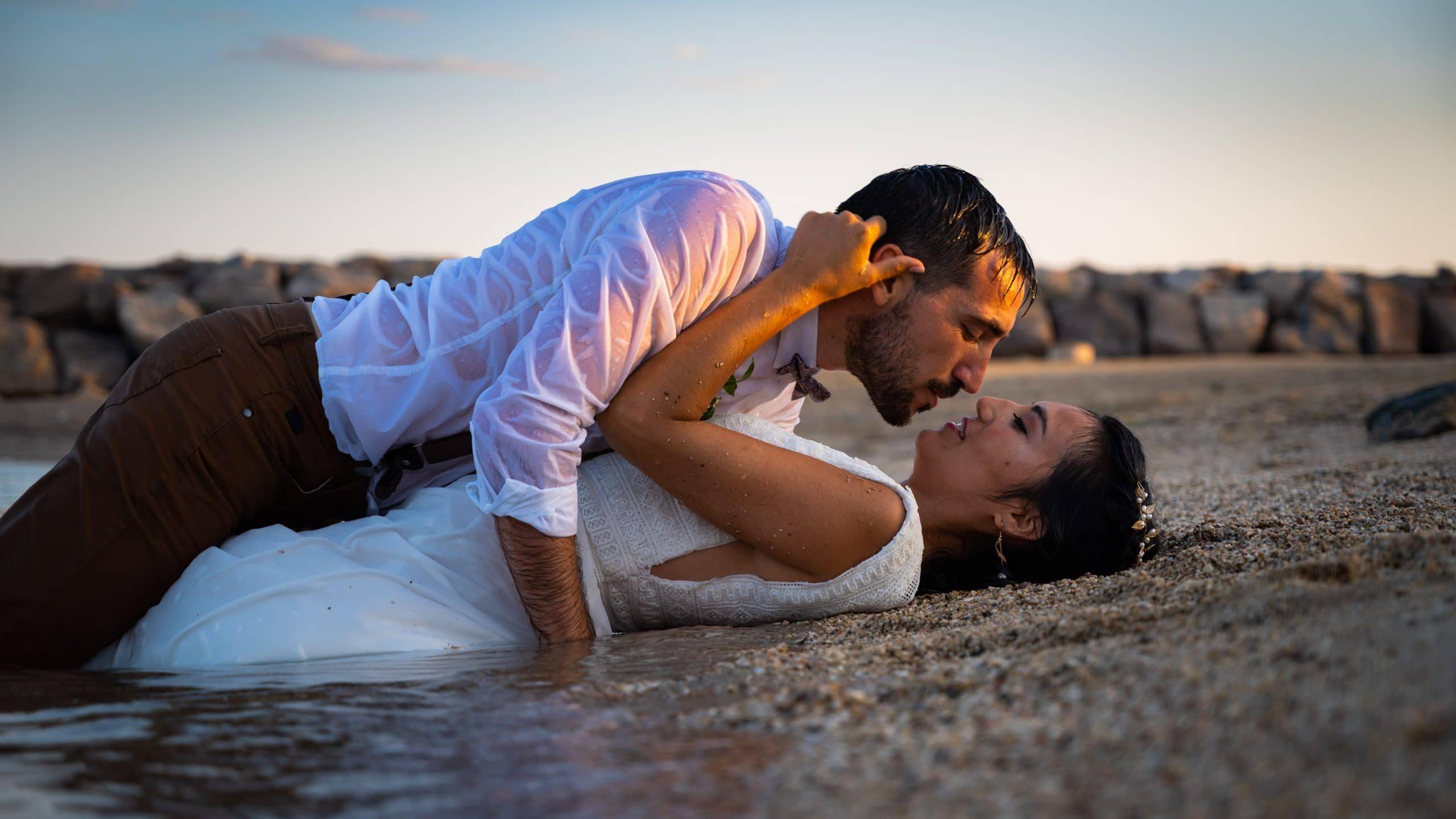 mariage - Day after sur la plage